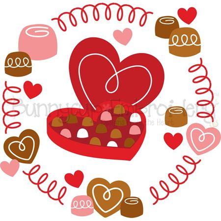 Box Of Chocolates Laurel SVG