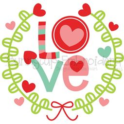 Love Laurel SVG