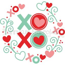 XOXO Laurel SVG