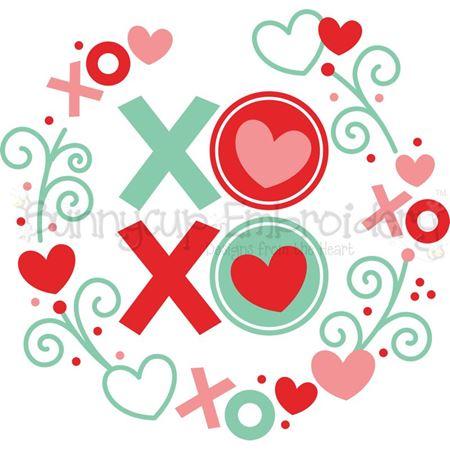 XOXO Laurel SVG