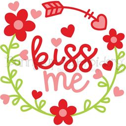 Kiss Me Laurel SVG
