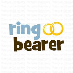 Ring Bearer SVG
