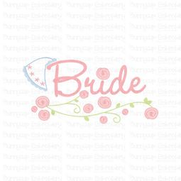 Bride With Veil SVG