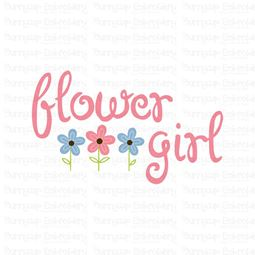 Flower Girl SVG