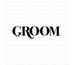 Groom SVG