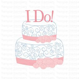 I Do Wedding Cake SVG