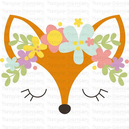 Fox Face SVG