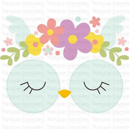 Owl Face SVG
