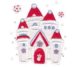 Snow Castle Applique