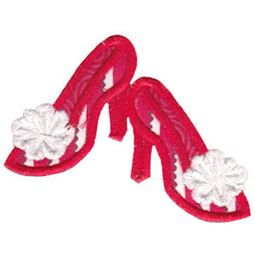 Christmas High Heels Applique