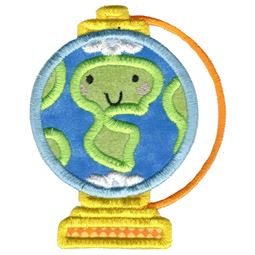 Applique World Globe