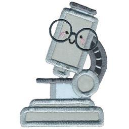 Applique Glasses Microscope