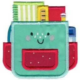 Applique School Bag