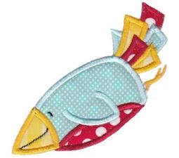 Flying Bird Applique