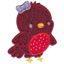 Girl Robin Applique