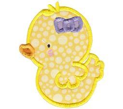 Girl Duck Applique