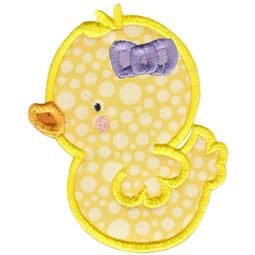 Girl Duck Applique