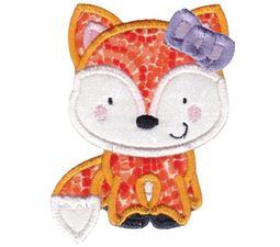 Girl Fox Applique