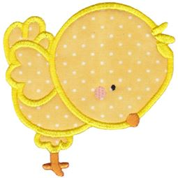 Chick Applique