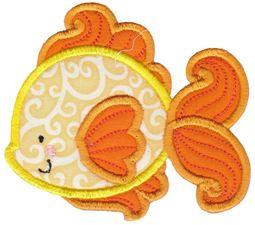 Goldfish Applique