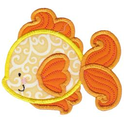 Goldfish Applique