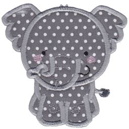 Elephant Applique
