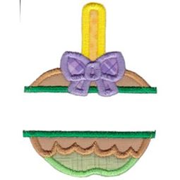 Split Candy Applique Applique