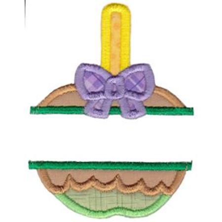 Split Candy Applique Applique