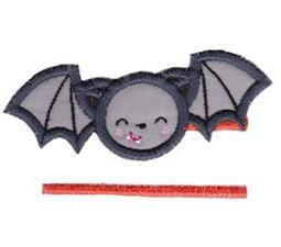 Split Bat Applique