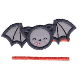 Split Bat Applique
