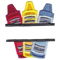 Split School Applique 7