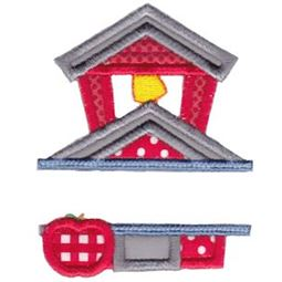 Split School Applique 9