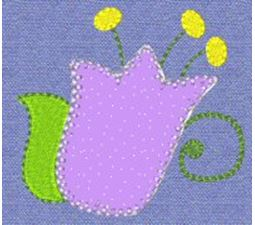 Sweet Spring Applique 9