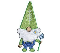 Boy Gnome With Garden Shovel