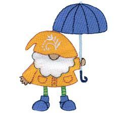 Rainy Day Boy Gnome