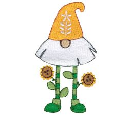 Sunflower Fan Beard Gnome