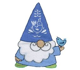 Boy Gnome and Bluebird