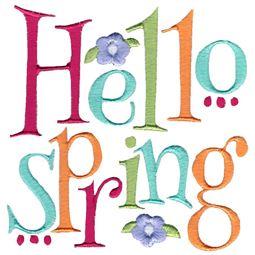 Hello Spring Design 1