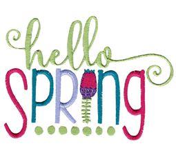 Hello Spring Design 2