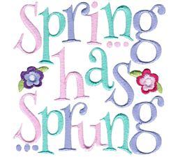 Spring Has Sprung Design 2