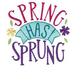 Spring Has Sprung Design 1
