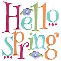Spring Sayings