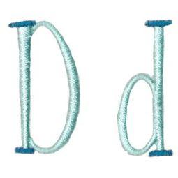 Stand Tall Alphabet D