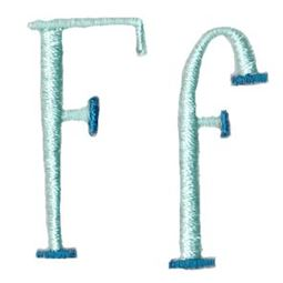 Stand Tall Alphabet F
