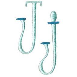 Stand Tall Alphabet J