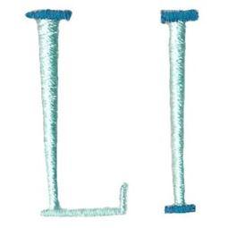 Stand Tall Alphabet L