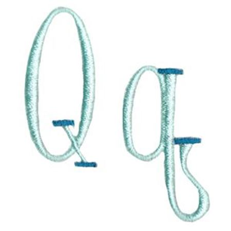 Stand Tall Alphabet Q