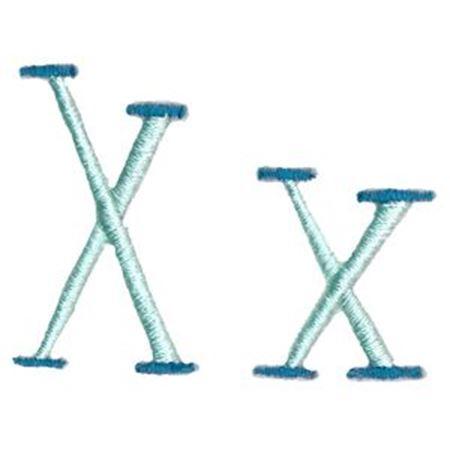 Stand Tall Alphabet X