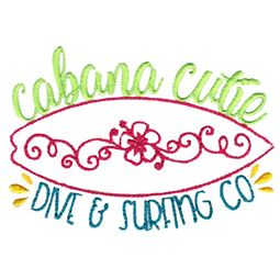 Cabana Cutie Dive And Surfing Co