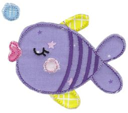 Fish Raw Edge Applique